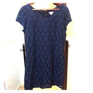 Xhilaration Navy Lace Dress Size XL